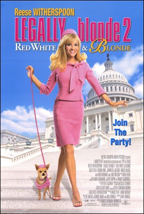 "Couverture de ""Legally Blonde 2"""