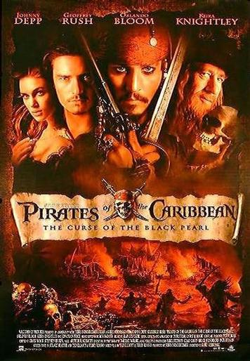 "Couverture de ""Pirates of the Caribeean"""