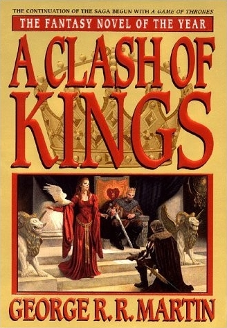 Couverture de ?A song of Ice and Fire, book 2: A Clash of Kings?
