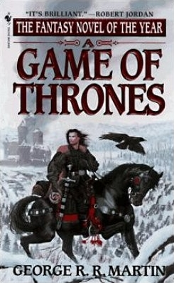 Couverture de ?A song of Ice and Fire, book 1: A Game of Thrones?