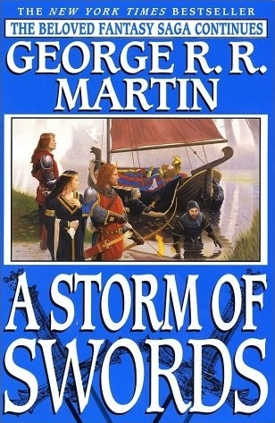 Couverture de ?A song of Ice and Fire, book 3: A Storm of Swords?