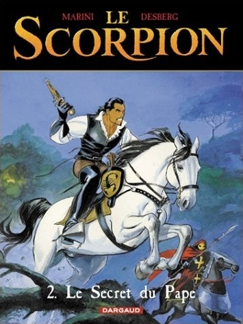 Couverture de ?Le scorpion, tome 2 : Le secret du pape?