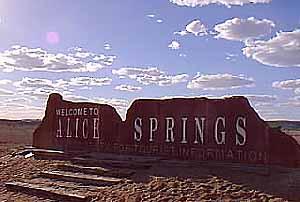Bienvenue à Alice Springs